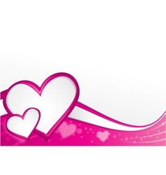 Lovely backdrop vector image vector image