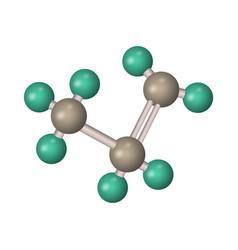 Formula propane vector