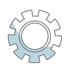 Gear wheel mechanical business collaboration vector