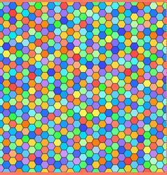 Hexagon pattern seamless background vector