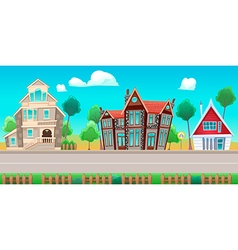 Houses Background01 vector