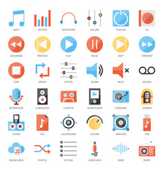 Music user interface vector