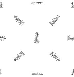 Power station pattern seamless vector