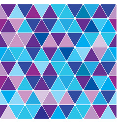 winter triangle pattern 27 vector image