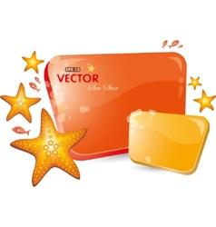 sea-star vector image
