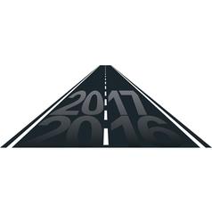 2017 vector image vector image