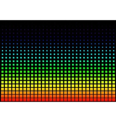 Squared Rainbow Background vector image