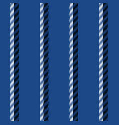 blue striped background diagonal fabric texture vector image