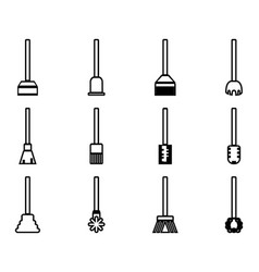 Cleaner tools vector