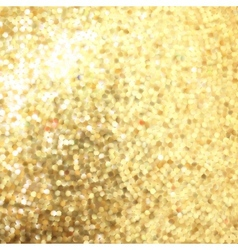 Golden mosaic Abstract background EPS 8 vector