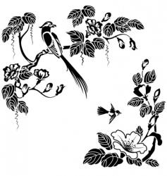 Oriental style vector