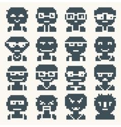Print people vector image