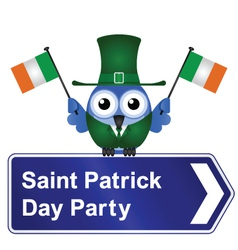 SAINT PATRICK DAY PARTY vector image