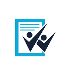 success education logo design template vector image