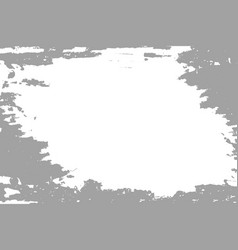 grey paint on white background vector image vector image