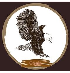 Eagle 1 vector image vector image