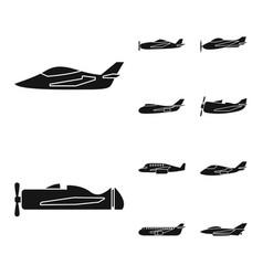 design transport and navigation logo vector image