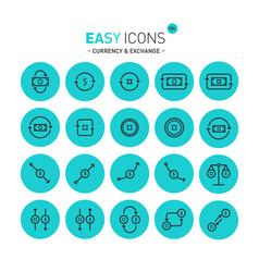 Easy icons 11c exchange vector