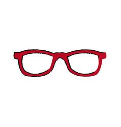eyeglasses accessory fashion object element vector image