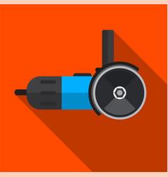 Grinder machine flat icon vector