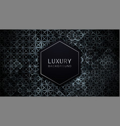 luxury background abstract 3d geometric pattern vector image