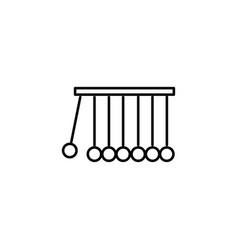 pendulum icon vector image