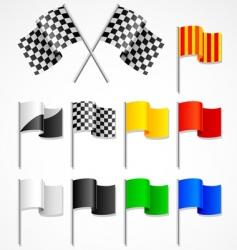 Sport flag vector