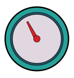 tachometer speedometer and indicator measurement vector image