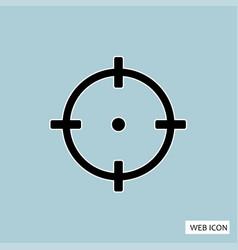 target icon target icon eps10 target icon target vector image