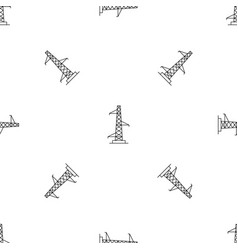 Voltage pole pattern seamless vector