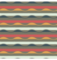 waves and stripes seamless pattern vector image vector image
