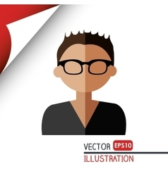 avatar person design vector image vector image