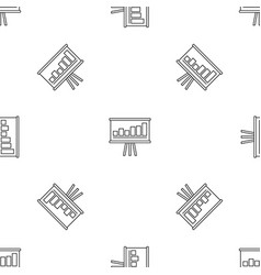 business strategy pattern seamless vector image