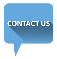 Contact us bubble vector