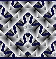 elegant geometric seamless pattern abstract dark vector image