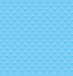 rhombuses blue seamless background vector image