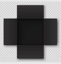 top view open box vector image