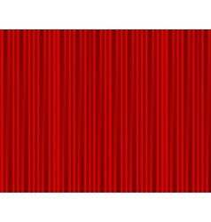 Curtain red closed with light spots in a theater vector image