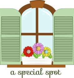 Special Spot vector image vector image