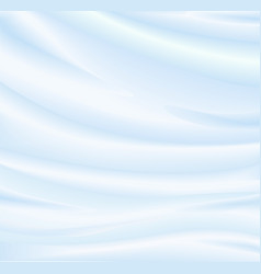 abstract blue background silk fabric vector image