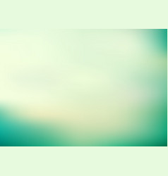 abstract green turquoise color smooth blurred vector image