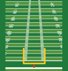 American football field vertical background vector