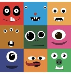 Set of cartoon vector image