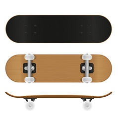 Skateboard 02 vector