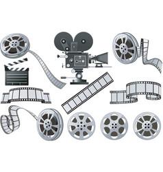 film industry vector image