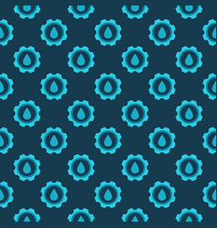 plumbing concept pattern vector image vector image