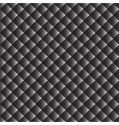 Seamless monochrome geometric pattern vector image