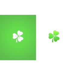 Shamrock Clover Leaf vector image vector image