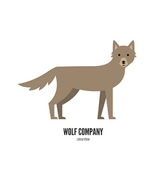 Animal Label vector image