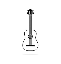 classical guitar icon concept for vector image